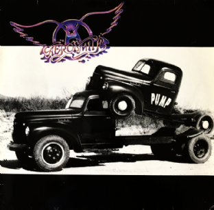 Aerosmith ‎- Pump (LP) (G-VG/G++)